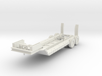 FW04 M15 40 Ton Trailer (1/100) in White Strong & Flexible