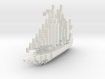 Arabian Sail Boat in White Strong & Flexible