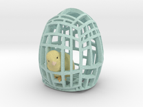 The Easter Chick - a - Dee (Baby Blue) in Full Color Sandstone
