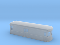 N gauge short trolley  freight-motor 1 in Frosted Ultra Detail