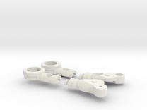 Fighter Variable Zero Left in White Strong & Flexible