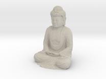 Buddha Sculpture - 50 mm in Sandstone
