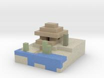 beach house  in Full Color Sandstone