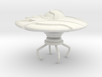 ufo 009 in White Strong & Flexible