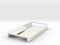 SBS Design #2 (Iphone 4/4S) in White Strong & Flexible