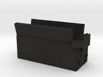 Trap Cart Open in Black Acrylic