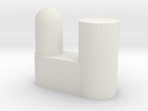 IKEA Bardu plastic wardrobe wheel holder in White Strong & Flexible