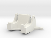BAGGERBED_MODULETIEFLADER_TEIL2 in White Strong & Flexible