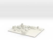 NPC village  in White Strong & Flexible