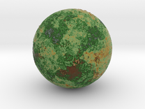 Planet 03 in Full Color Sandstone