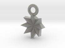 Origami Inspired: Star in Metallic Plastic