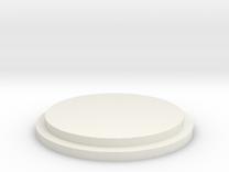 Pommel Insert - Blank in White Strong & Flexible