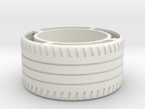 rim R8 REAR wheel in White Strong & Flexible