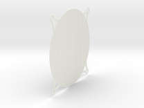 120mm PC Fan Filter in White Strong & Flexible