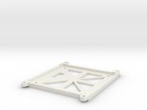 Bottom Cover for HF GPS in White Strong & Flexible