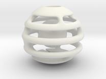Bola H V1 IMP3D in White Strong & Flexible