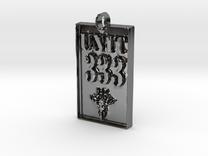 Unit 333 Gold or Silver Pendant in Premium Silver