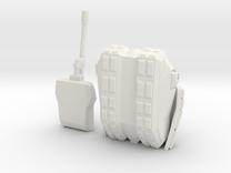 Tank 2 Printable in White Strong & Flexible