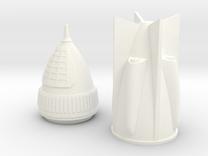 Rocket 6 v2 in White Strong & Flexible Polished