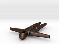 Bodysuite Little in Matte Bronze Steel