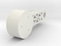 BMGimbal Outer Tilt in White Strong & Flexible