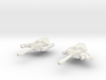 Rumble Frenzy Guns 03 - Hollow Reinforced in White Strong & Flexible