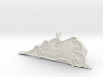 Cloud Pendent in White Strong & Flexible