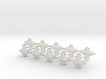 Dispersor (2) in White Strong & Flexible