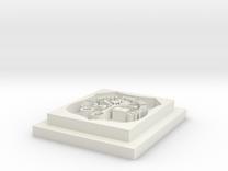 Calabar pendant  in White Strong & Flexible