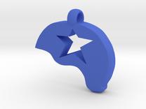 Jammer Helmet in Blue Strong & Flexible Polished