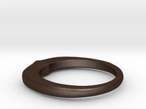Ring 022 in Matte Bronze Steel