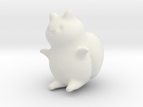 """Catbug - 4"""" tall in White Strong & Flexible"""