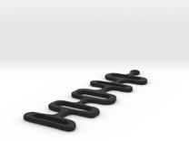 Mod Earrings in Black Strong & Flexible