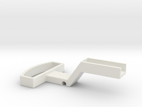 G-scale coupler in White Strong & Flexible