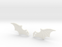 Dragon-Wings in White Strong & Flexible Polished