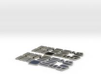 Rom Socimi windows, H0 in Transparent Acrylic