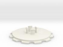 SPOOL2INMALEWHUB in White Strong & Flexible