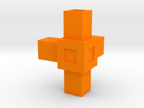 Assembly Parts Small C4 in Orange Strong & Flexible Polished