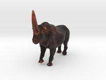 Elasmotherium Color in Full Color Sandstone