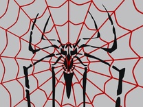 SpiderNet big in White Strong & Flexible
