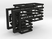 Tiles for the Multi-Gear Cube Kit in Black Strong & Flexible