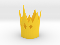 Hopper Croakington cosplay crown EAH in Yellow Strong & Flexible Polished