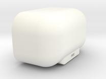 DJI Phantom FC40 1.5 - 40mm Battery Door v2 in White Strong & Flexible Polished