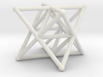 Rod Merkaba Supports 3cm in White Strong & Flexible