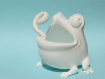 Toad Plastic in White Strong & Flexible
