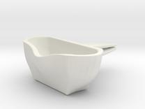 Voituré 'M' - Car Interior Flower Pot in White Strong & Flexible