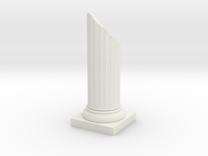 Pillar Broken Bottom Variation 01 Lrg in White Strong & Flexible