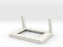 Frame for Shapeways Full Color Photoshaper in White Strong & Flexible