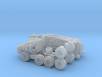 Command Trailer and Tractor 1/160 N Scale  in Frosted Ultra Detail
