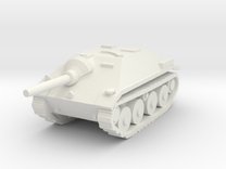 10mm Hetzer tank hunter in White Strong & Flexible